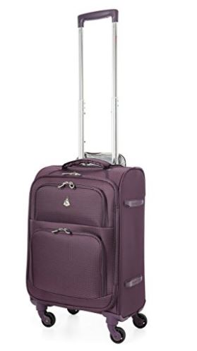 Aerolite Carry On MAX Lightweight Upright Travel Trolley Bags