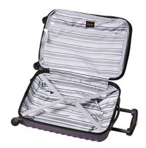 Lucas Luggage ABS Carry On Hard Case
