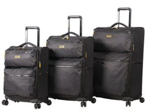 Lucas Luggage Ultra Lightweight 3 Piece Expandable Suitcase Set With Spinner Wheels