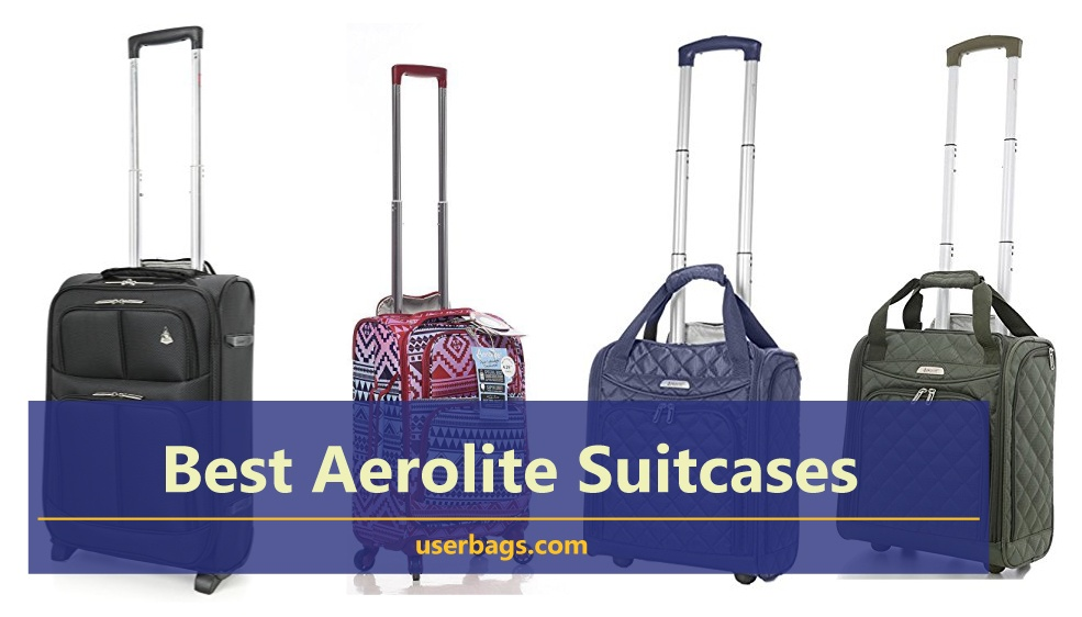 best aerolite suitcases with reviews