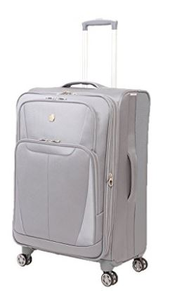 SwissGear Baden 24.5 Expandable Spinner Suitcase