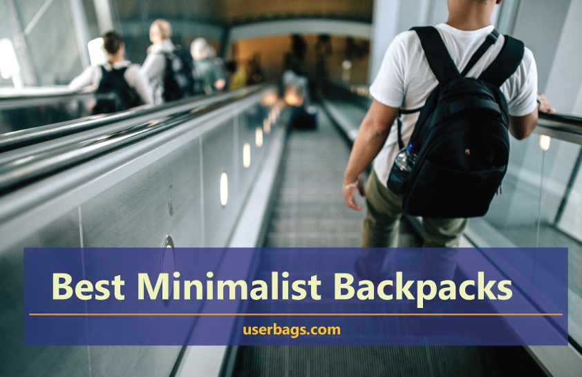 best minimalist backpacks for work and travel